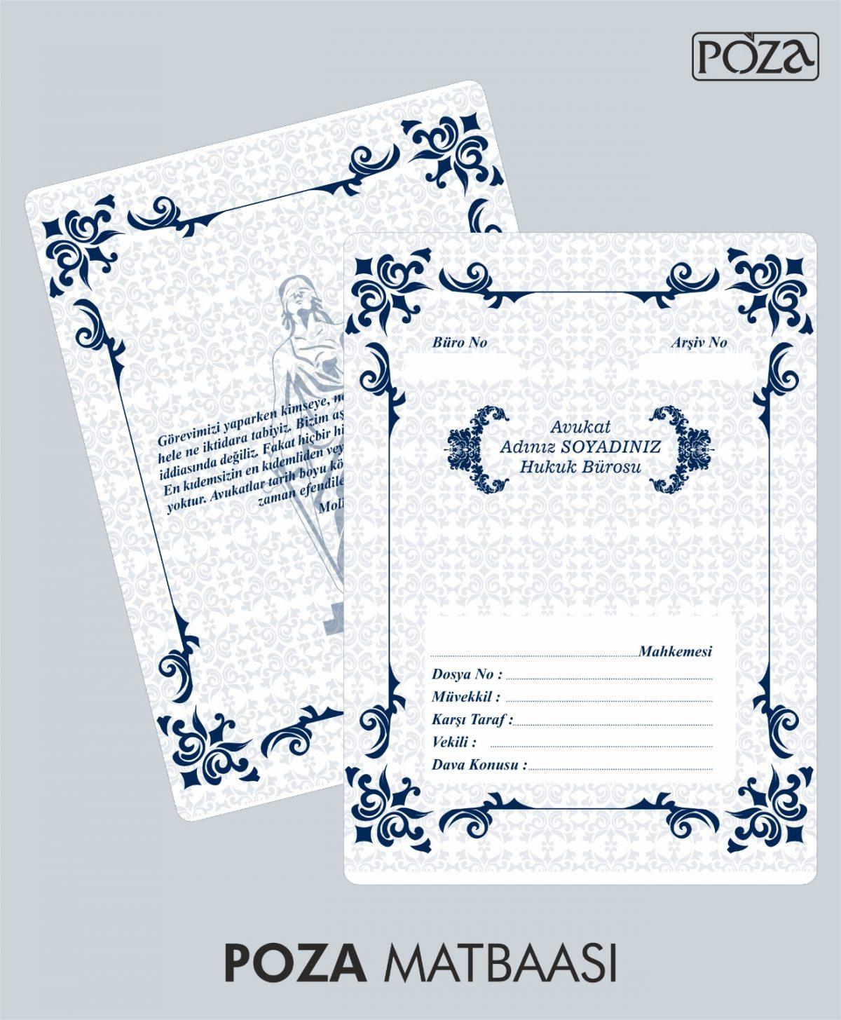 avukat büro dosyası model 6