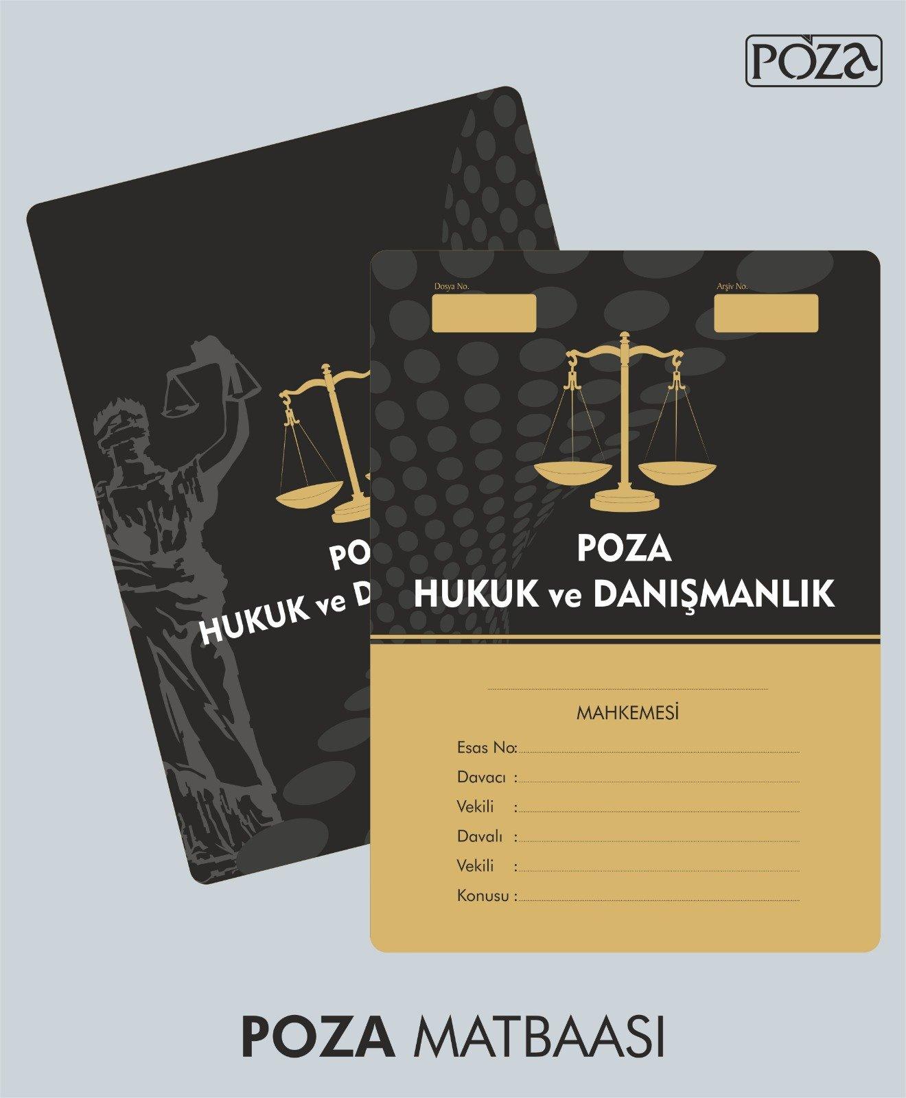avukat büro dosyası model 8
