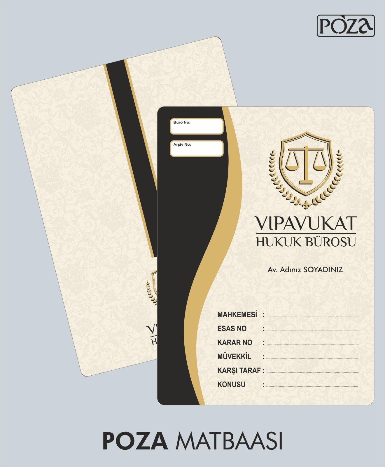 avukat büro dosyası model 9