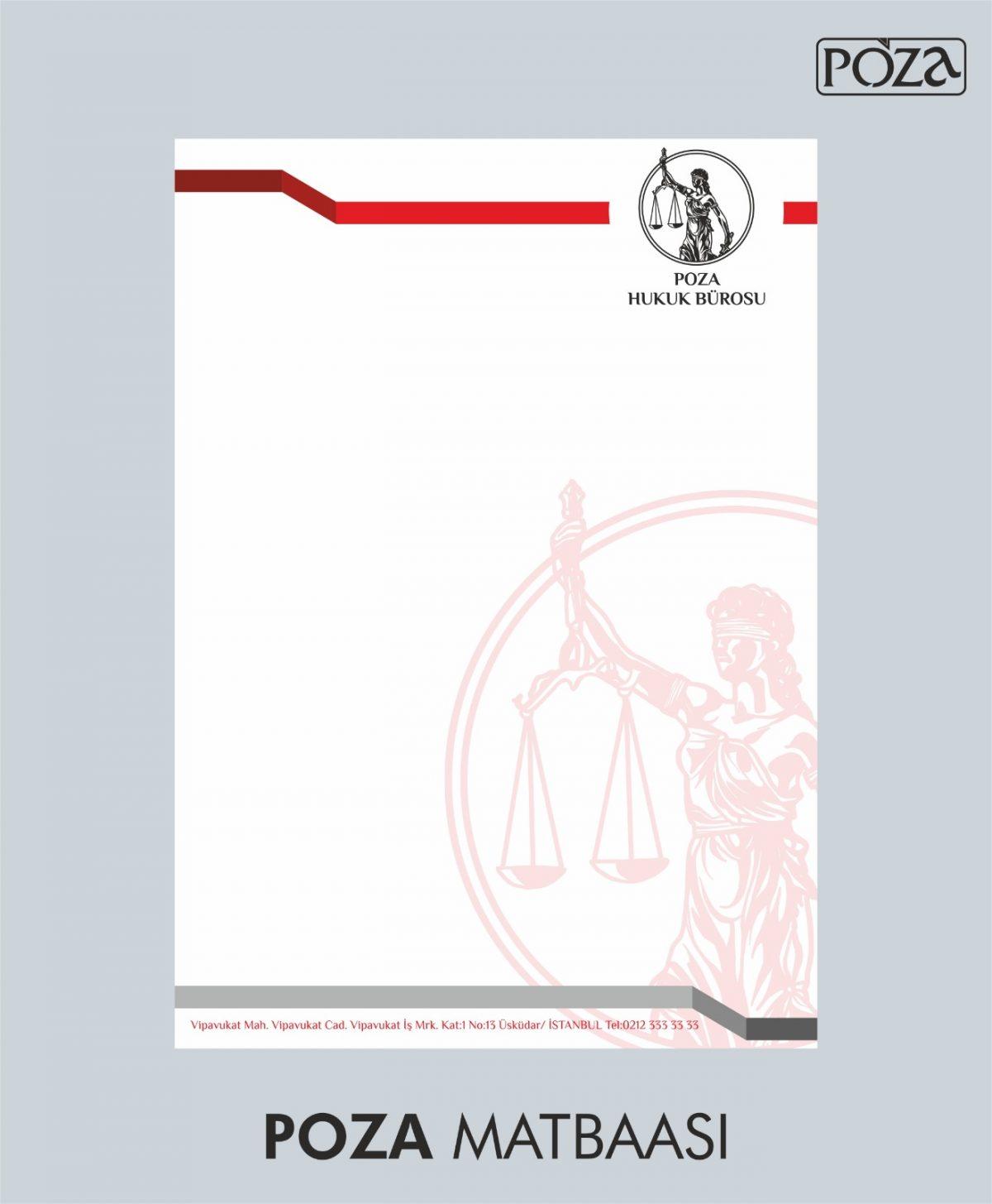 avukat antetli kağıt 10