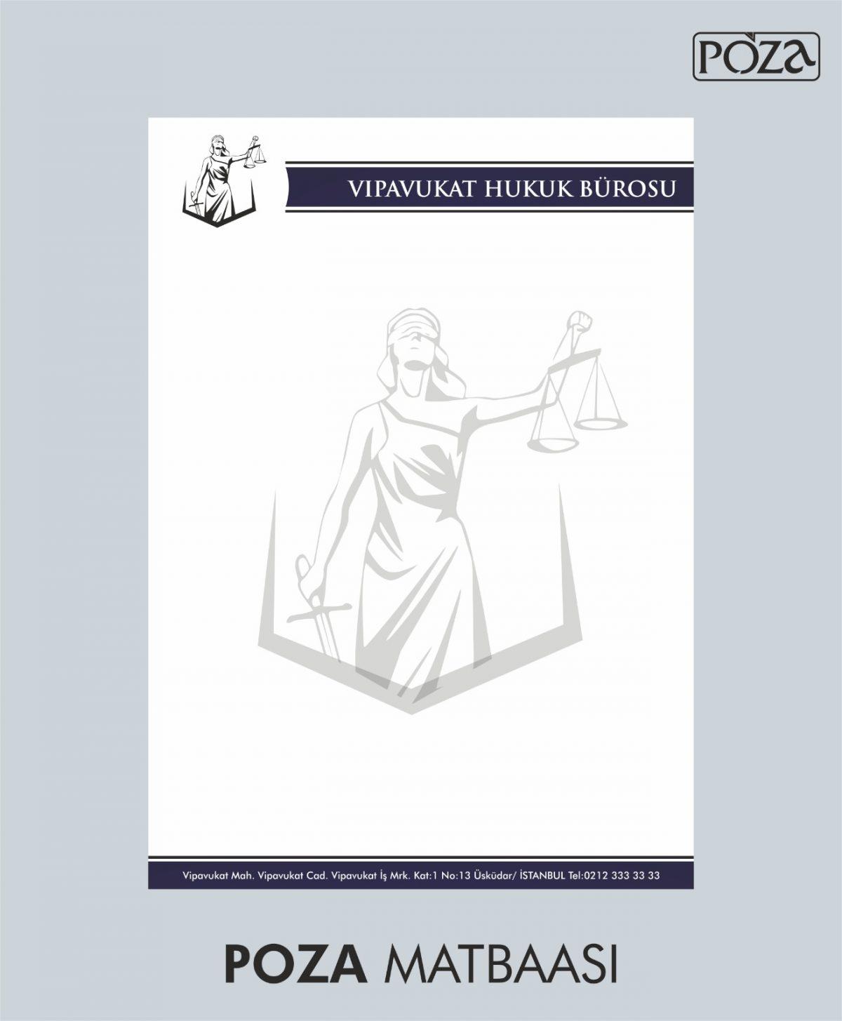 avukat antetli kağıt 11