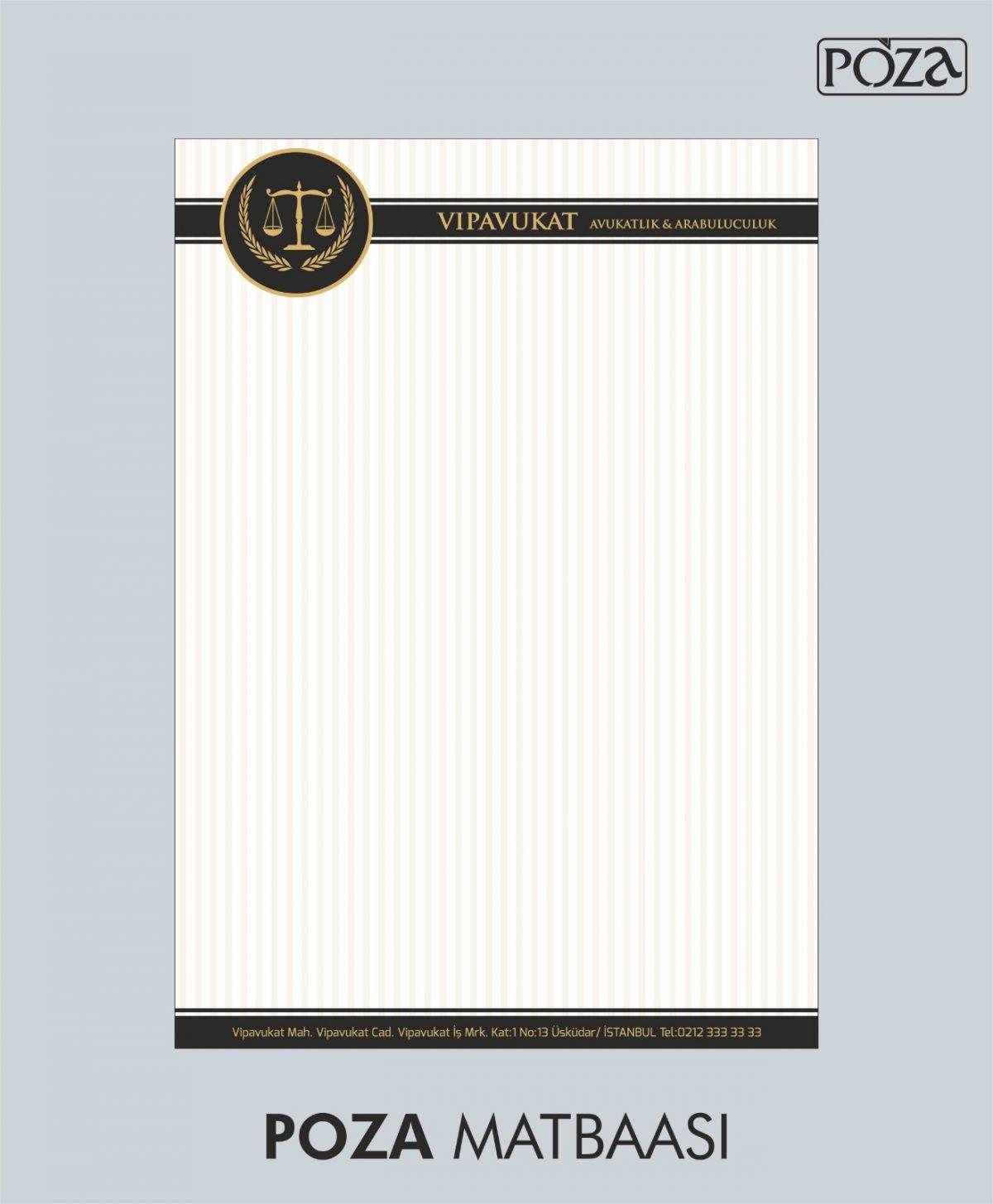 avukat antetli kağıt 14