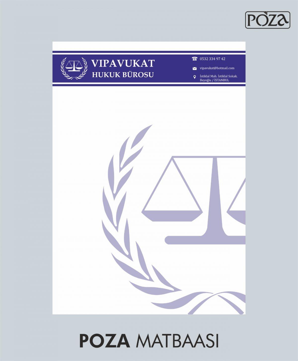 avukat antetli kağıt 17